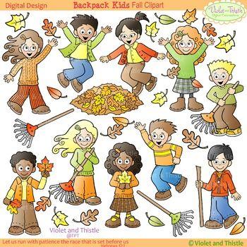 Activities clipart clip art. Fall kids verbs violet
