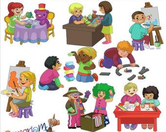 Activities clipart clip art. Preschool library