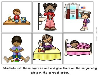 Activities clipart daily. Sequencing freebie by mrs