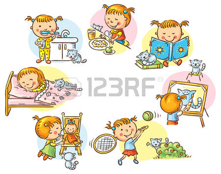 clipartlook. Activities clipart daily routine