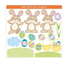 Activities clipart easter. Bunny digital paper piecing