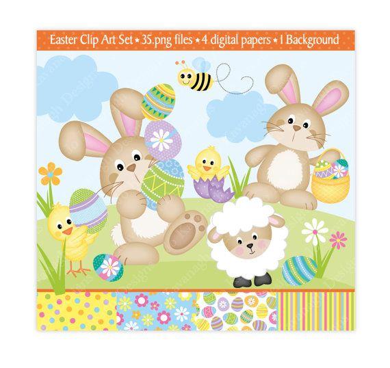 Clip art bunny jokavanaghdesigns. Activities clipart easter