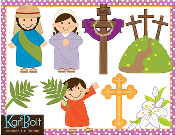 Activities clipart easter. Religious clip art by