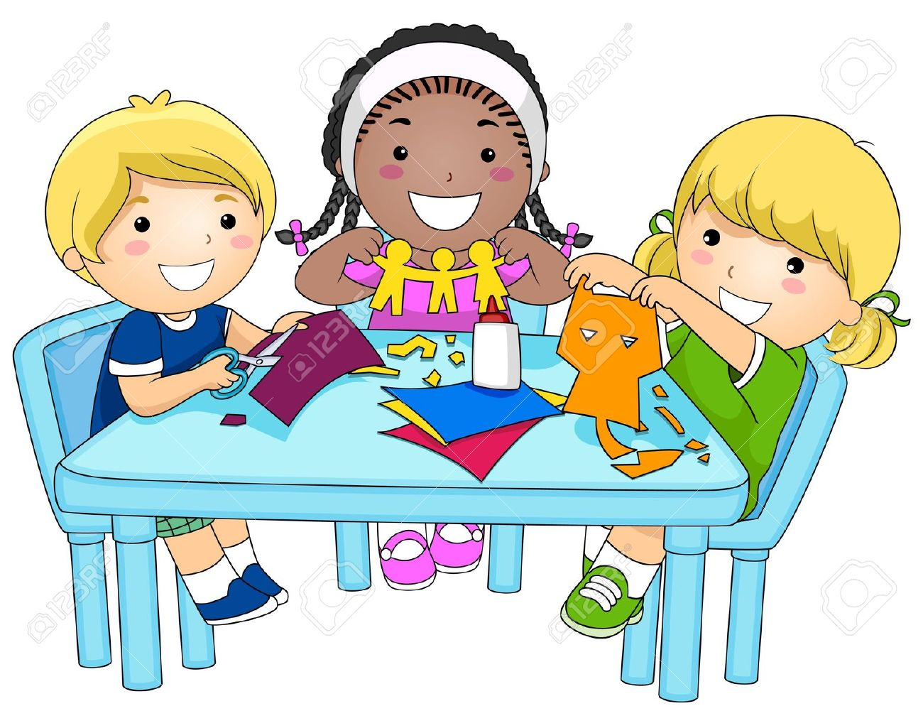 Group Activity Clipart