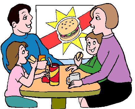 Activities clipart group. Clip art eating picgifs