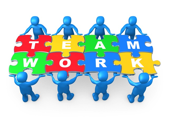 Activity clip art library. Teamwork clipart group role
