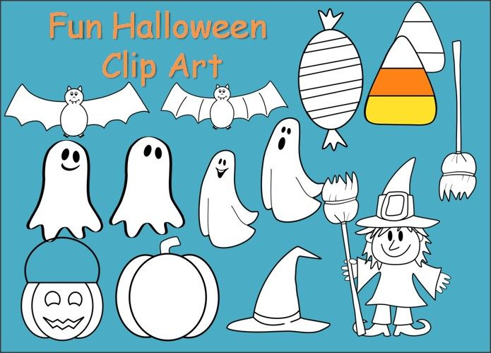 Pin by claudia ke. Activities clipart halloween