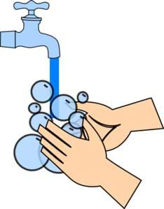 Germs and hygiene for. Activities clipart hand on