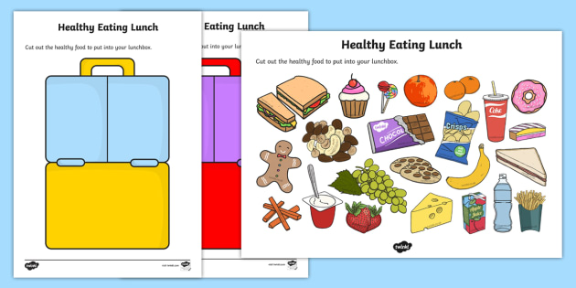 Eating lunch activity healty. Activities clipart healthy lifestyle