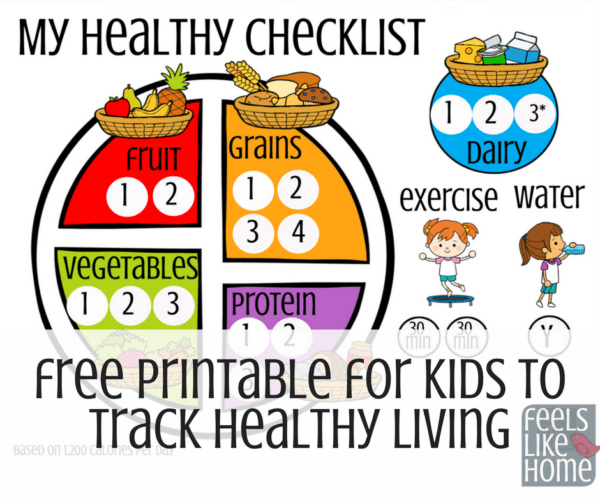 Activities clipart healthy lifestyle. Free printable for kids