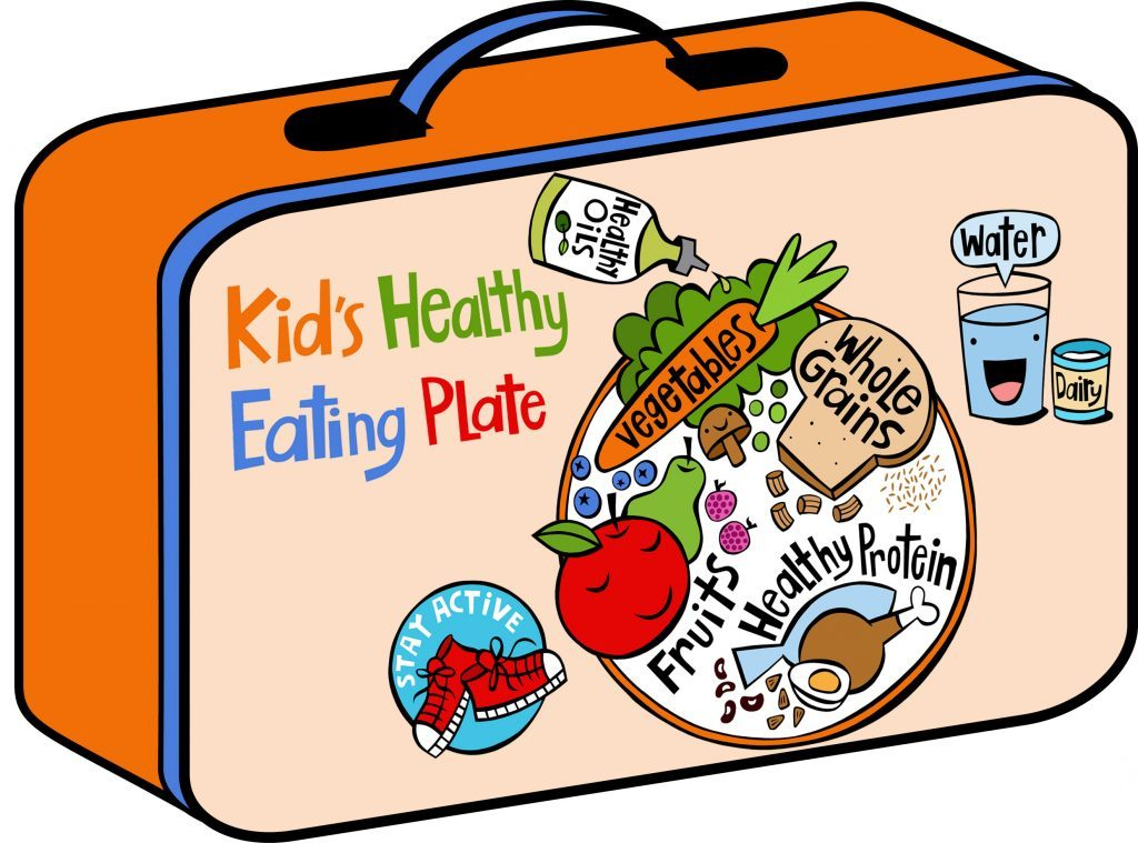Activities clipart healthy lifestyle. Back to school fuel