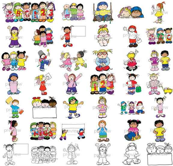Activities clipart illustration. Artistic school activity pencil