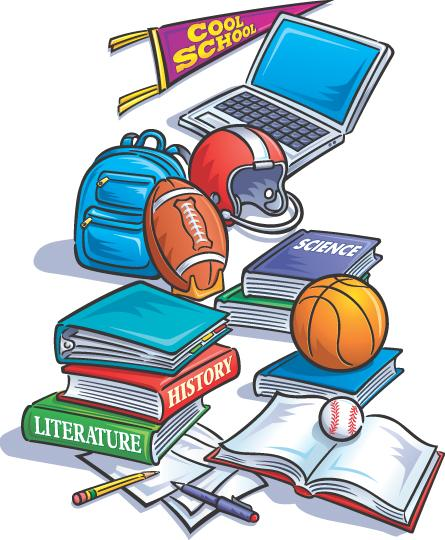 Rawlins high middle weekly. Activities clipart in school