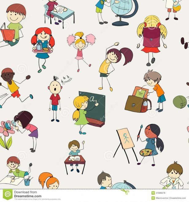 Activities clipart in school. Kids pictures of printable