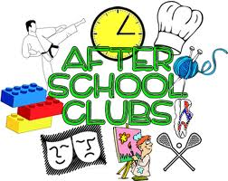 Clubs and new foundations. Activities clipart in school