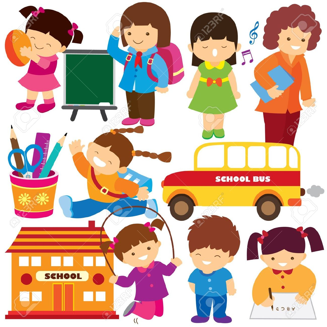 Activities clipart in school. Free student cliparts download