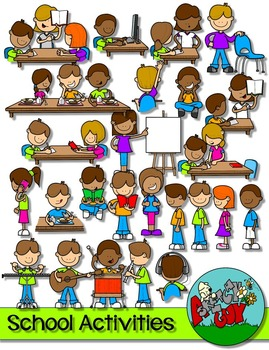 Activities clipart in school. Teaching resources teachers pay