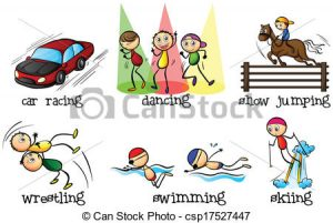Physical Activity Clipart different physical activities clipart ...