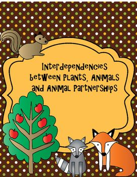 Activities clipart interdependence. Plant and animal interdependencies