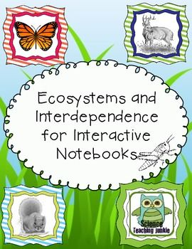 Activities clipart interdependence. Ecosystems and for interactive