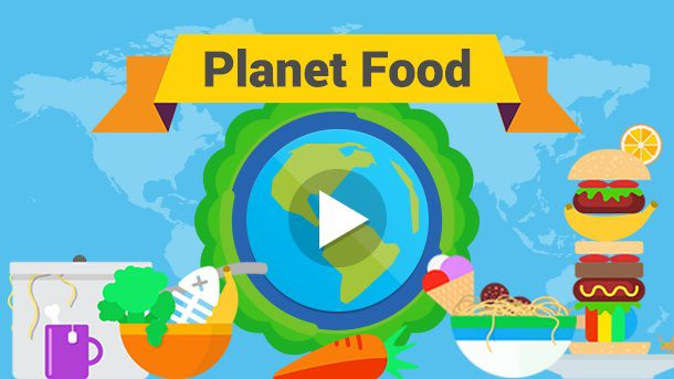 Planet food national geographic. Activities clipart interdependence
