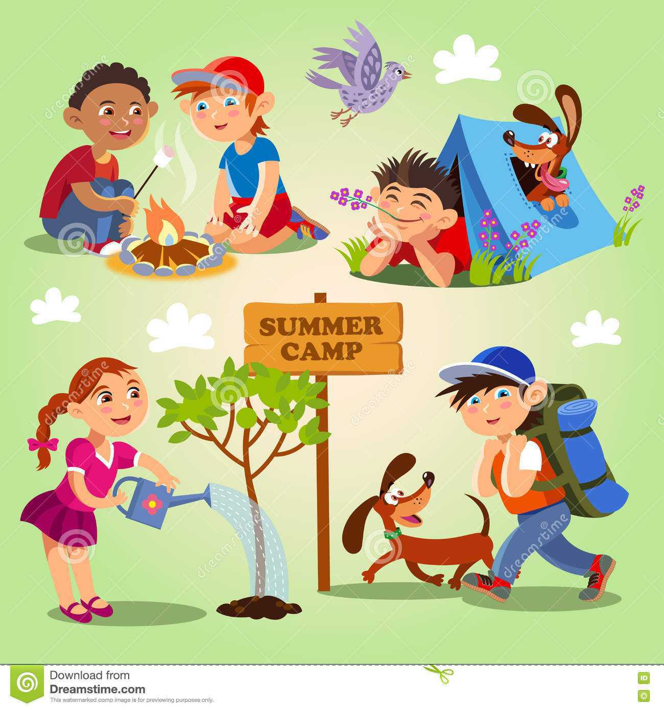 Camping luxury camp pencil. Activities clipart outdoor activity