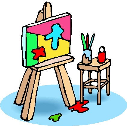 Activities clipart painting. Most interesting clip art