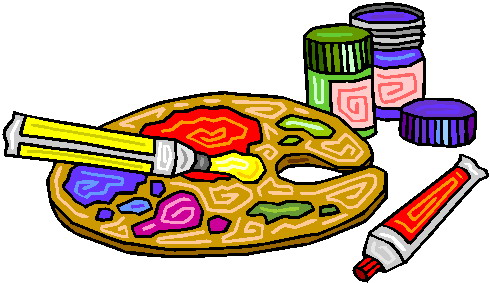 Art clipart. Clip activities painting picgifs