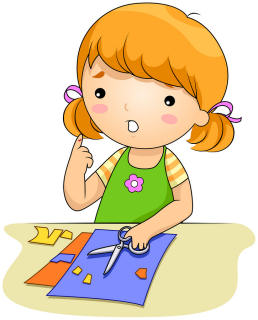 Thoughts clipart individual activity. Kids crafts inspiration for
