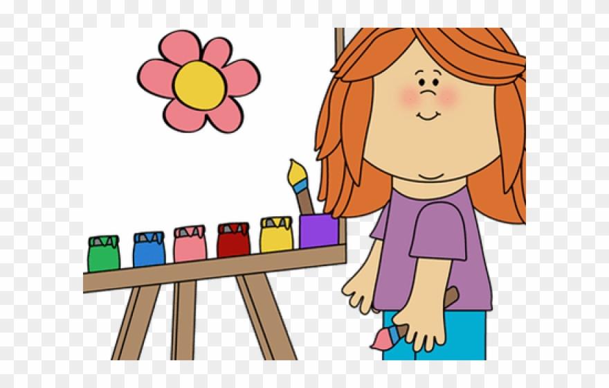 Activities clipart painting. Vase paintclip art lesson
