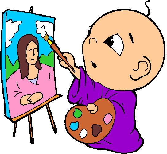 Activities clipart painting. Clip art picgifs com
