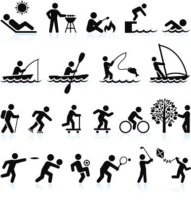 Free outdoor cliparts download. Activities clipart recreational activity