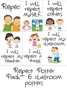 Activities clipart respect. Activity posters life skills