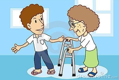 Showing to elders clipartfest. Activities clipart respect
