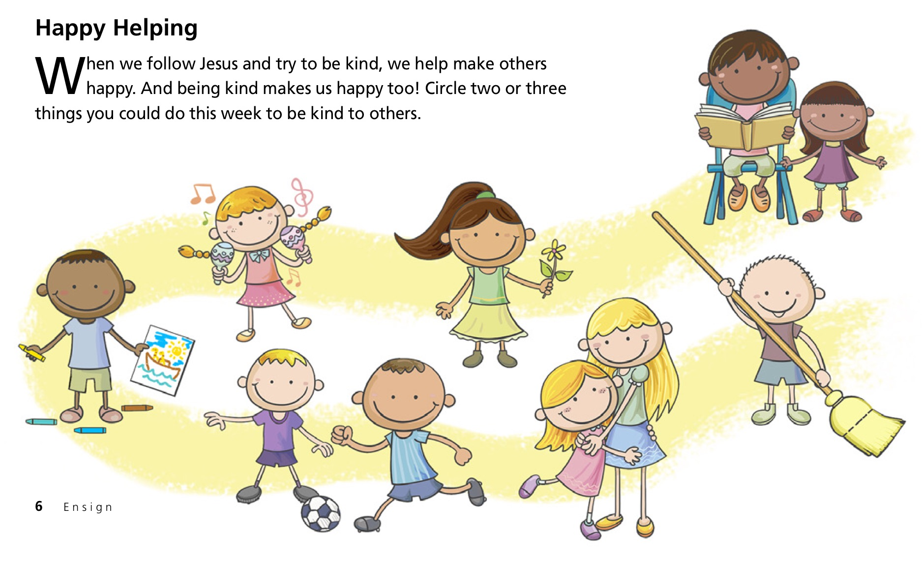 Archives teaching lds children. Activities clipart respect