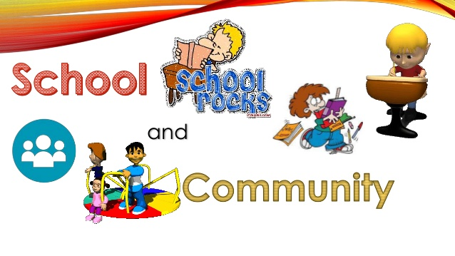 And relations . Activities clipart school community