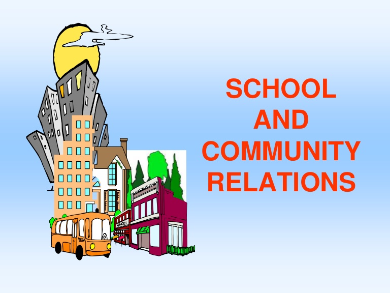 Activities clipart school community. Schoolandcommunityrelations phpapp thumbnail jpg