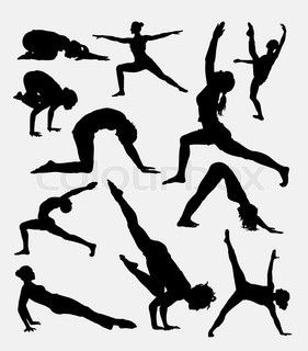 best images on. Activities clipart silhouette