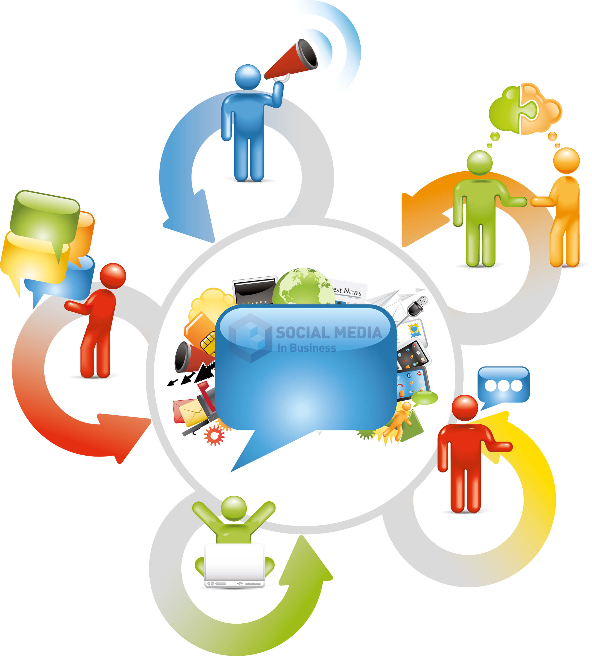 Tips for media promotional. Activities clipart social activity