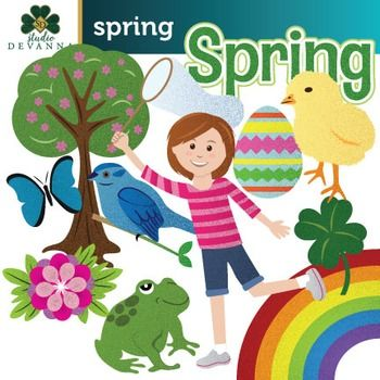 piece clip art. Activities clipart spring season