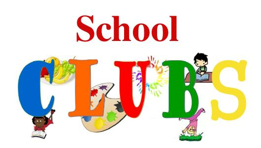 Clubs and overview. Activities clipart student activity