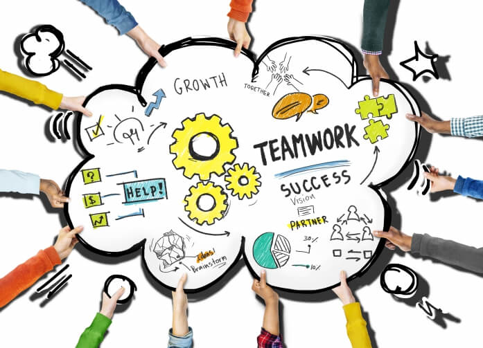 Working clipart difficult work.  benefits of teamwork