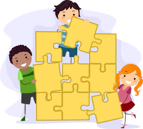Activities clipart teamwork. South bay kids connection