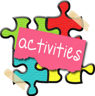 Activities clipart transparent. Flashcards by donald patnaude