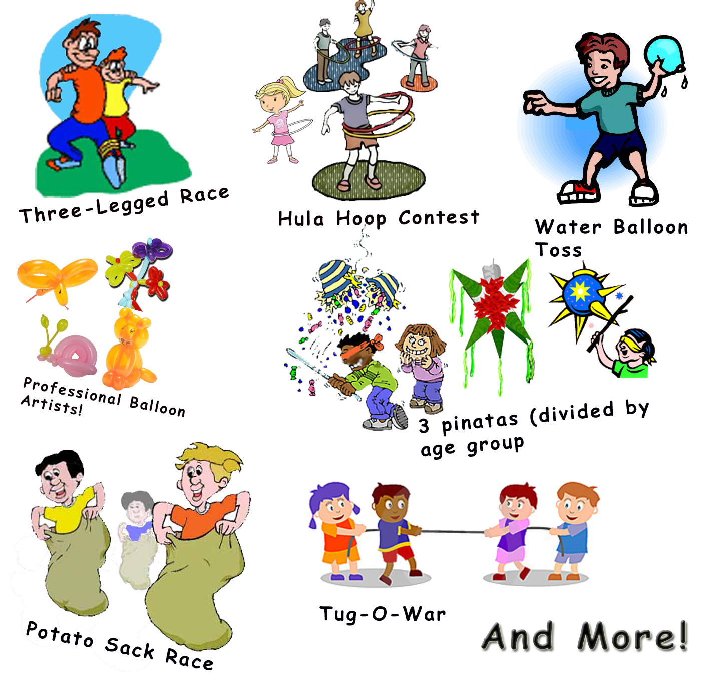 Activities clipart vector. Pool family activity free