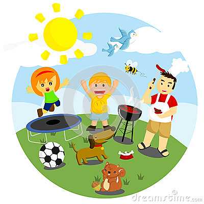 Outdoor . Activities clipart weekend
