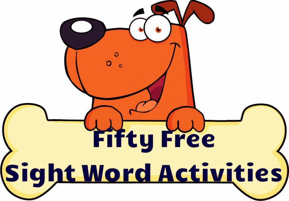 Kids the abbreviate sight. Activities clipart word