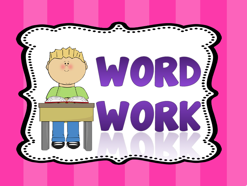Clip art library . Writer clipart word work center