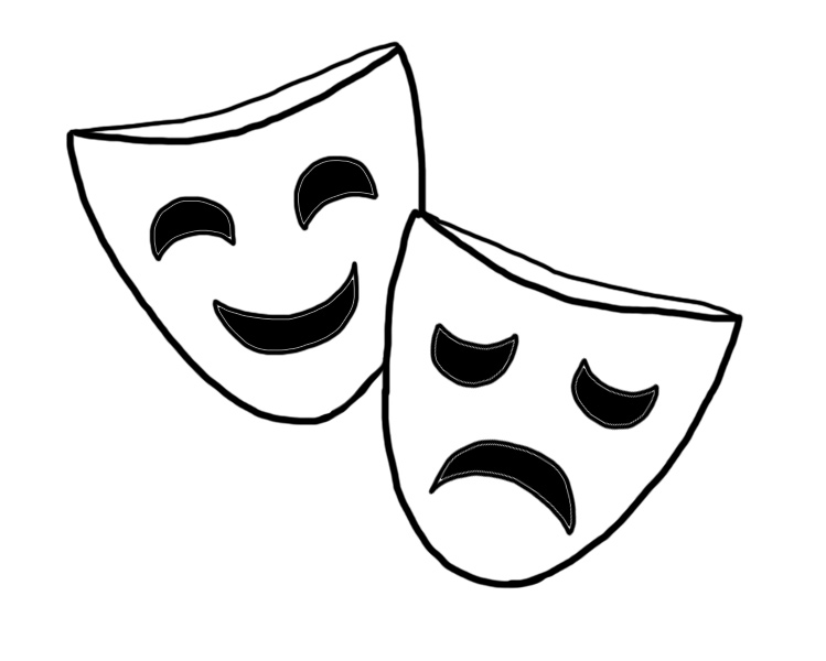 Actor clipart actor mask. How to make a