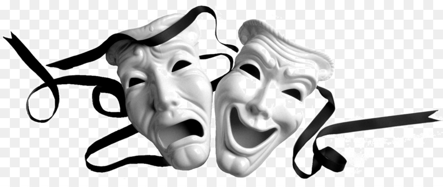 Actor clipart actor mask. Theatre drama tragedy clip